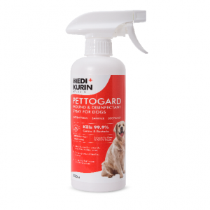 MEDI+KURIN HOCL PettoGard Wound & Disinfectant Spray For Dogs 500ml