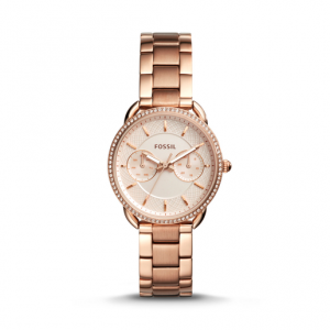 Fossil Tailor Multifunction Rose Gold-Tone Stainless Steel Watch