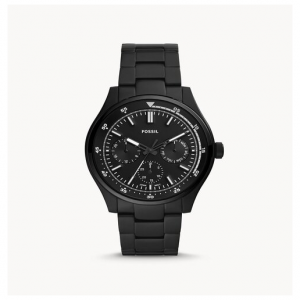 Fossil Belmar Multifunction Black Stainless Steel Watch