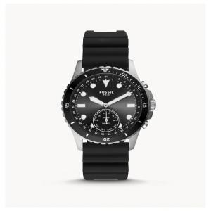 Fossil Hybrid Smartwatch FB-01 Black Silicone