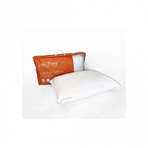 Jean Perry Natural Cotton Pillow (48cm x 74cm)