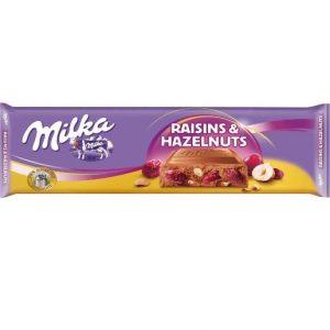 Milka Raisins & Nut 270g