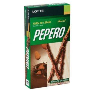 Lotte Pepero Almond 256g