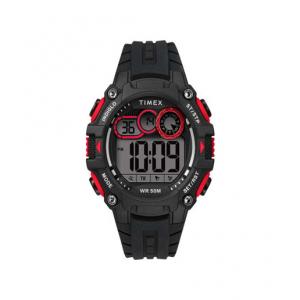 Timex DGTL™ Big Digit 48mm Silicone Strap Watch