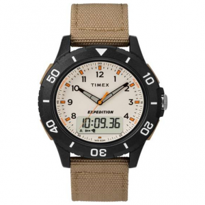 Timex Expedition Katmai Combo 40mm Fabric Strap Watch