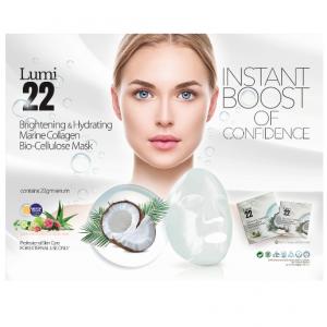 LUMI22 Bio Cellulose Mask (Buy 10 Box Free 10 Box)