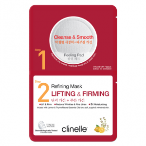 Clinelle Peeling Pad 6ML, Refining Mask 25ML – Lifting & Firming