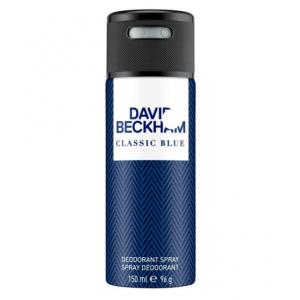 David Beckham Classic Blue Deodorant Spray (150ml) For Men