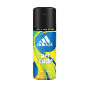 Adidas Get Ready Deodorant Body Spray (150ml) For Men