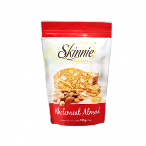 Skinnie Biscotti Wholemeal Almond