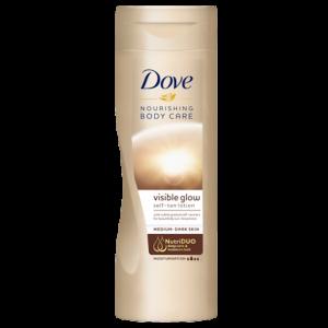 Dove Nourishing Body Care Visible Glow Self Tan Body Lotion 400ml