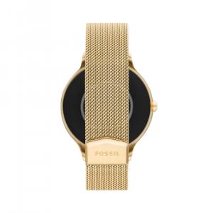 Fossil Smart Watch Gen 5E Gold Stainless Steel Women's FTW6069