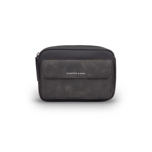 Kapten & Son Harra All Black Crossbody Chest Belt Bag (LB99A0199A31A)