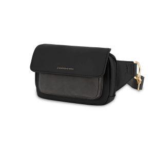 Kapten & Son Visby Chest Bag – All Black (LF99A0199A12A)