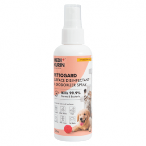 MEDI+KURIN HOCL PettoGard Surface Disinfectant & Deodorizer Spray 100ml