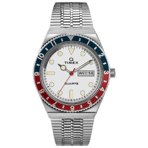 Q Timex Reissue 38mm Stainless Steel Bracelet Watch TW2U61200