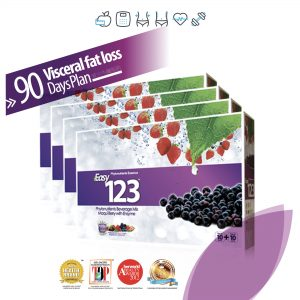 Easy123 [4 Boxes (90 Day Plan)]