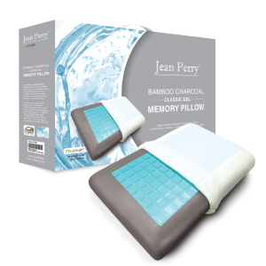 Jean Perry – Bamboo Charcoal GEL Classic Memory Pillow